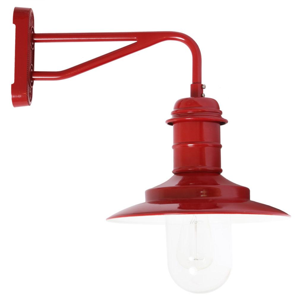 rote Hoflampe mit Sturz